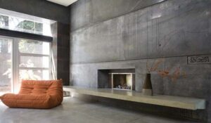 beton strukturalny od Fu-Tung Cheng projekt wnętrza