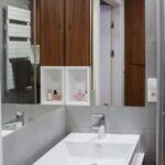 kawalerka na wynajem - projekt łazienki
