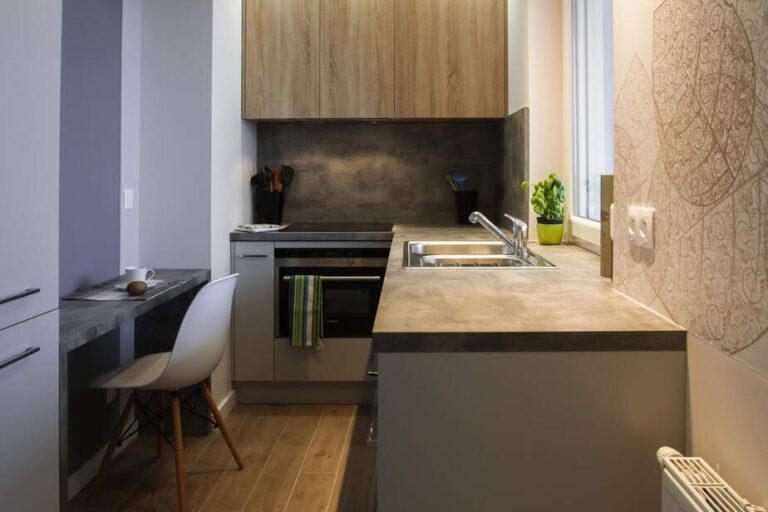 mieszkanie na wynajem projekt kuchni
