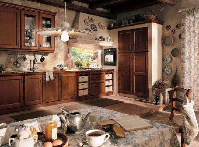 kuchnia w stylu vintage