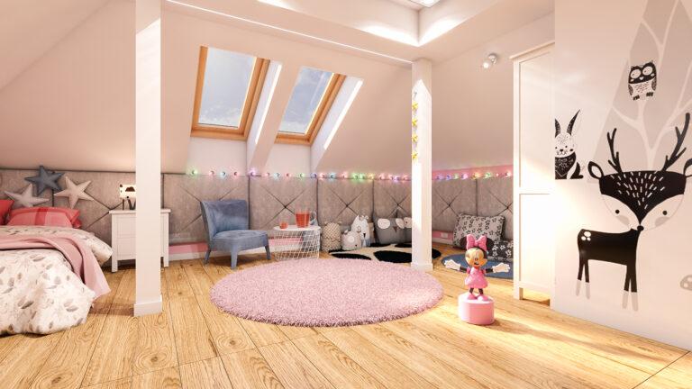 pokój dla dziecka w aranżacji Abrys