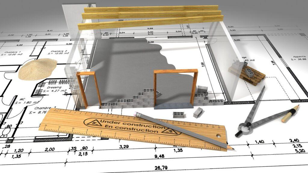 praca architekta, projektanta wnętrz