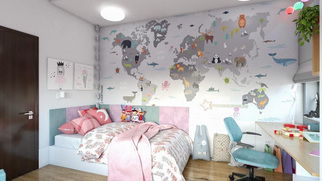 piękna aranżacja na pokój dla dziewczyny